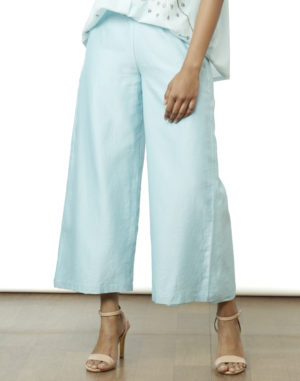Embroidered Powder Blue Tunic