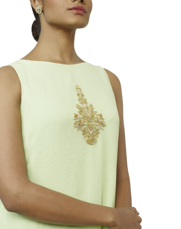 Embroidered Double layered Kurta