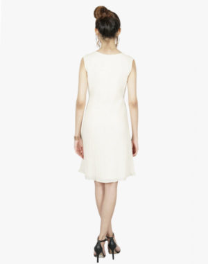 Allure A Line Patch Short Dress