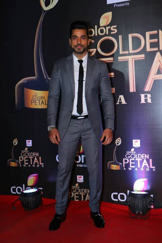 Gautam Gulati in Black Grey Suit
