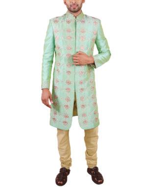 Green Gotta -Patti Embroidered Sherwani