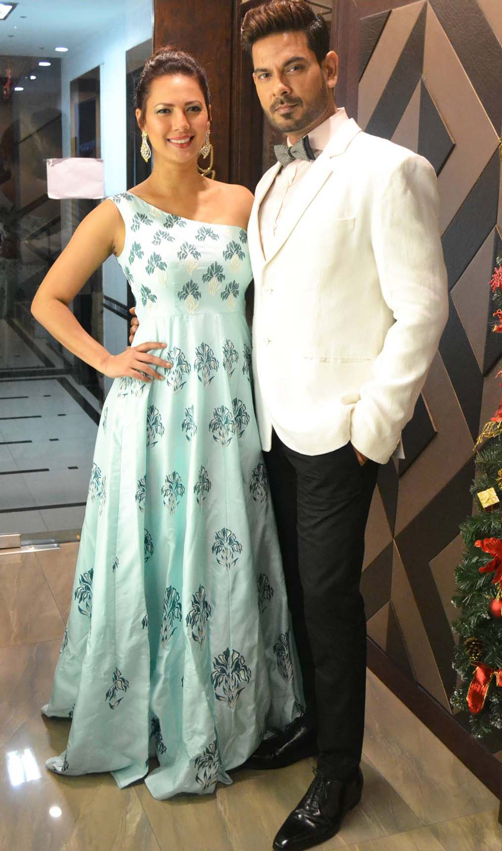 Rochelle Rao & Keith in our Semi-formal look