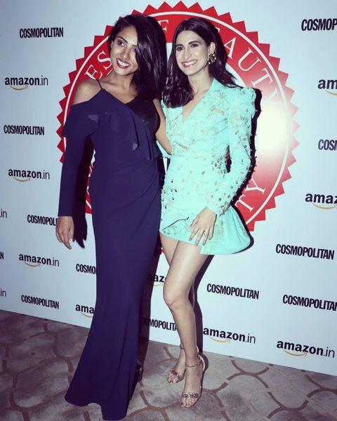 Teena Singh in Blue Gown