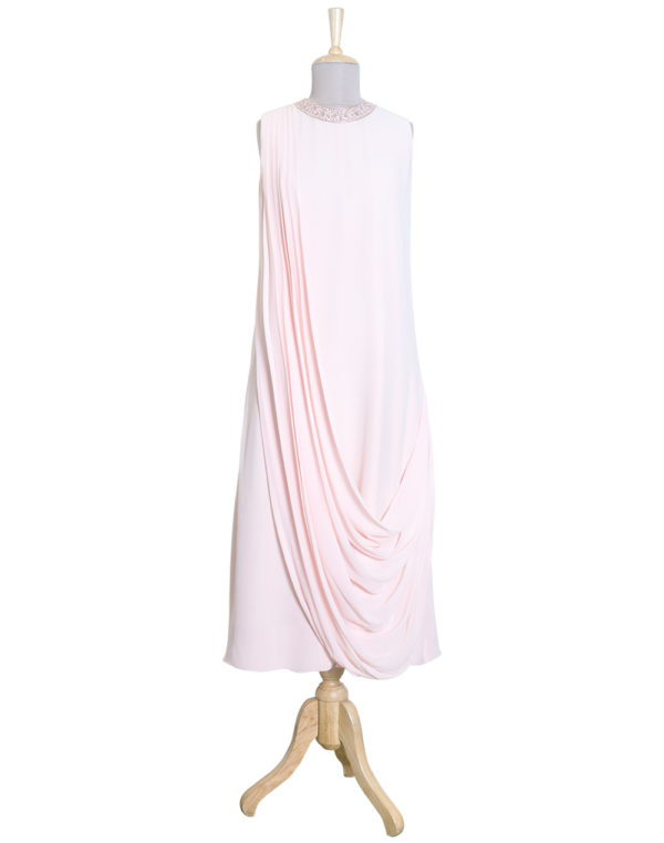 Draped Blush Tunic