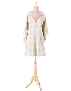 Embroidered Print Tunic