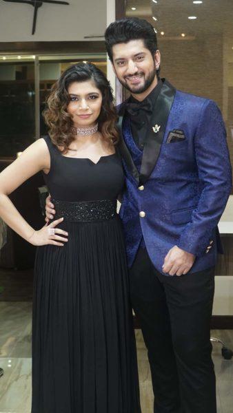 Kunal Jaisingh and his wife Bharti Jaisingh