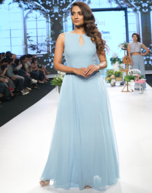 Avika Gown front