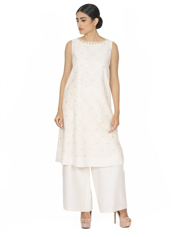 THE REYNA DOUBLE LAYER TUNIC